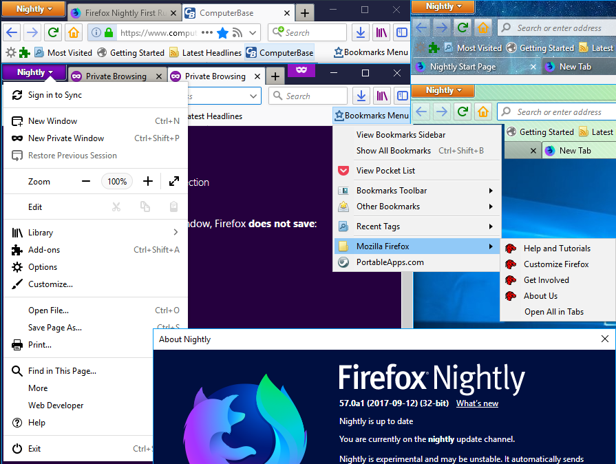 Things possible in Firefox 57+ (by using CSS code in