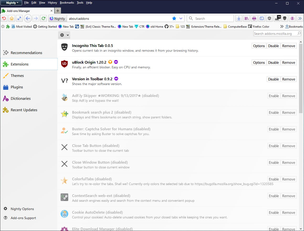 Firefox 68+] HTML based add-on manager / about:addons