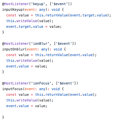 Not showing masked value initially, if dynamically