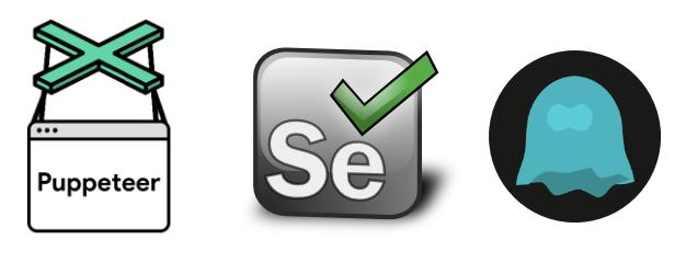 Selenium VS Puppeteer VS HTTP Client