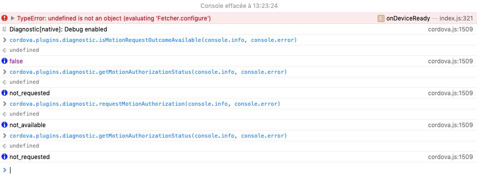 Cordova_diagnostic_issue_on_iPad_Mini_4