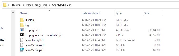 ScanMedia Folder