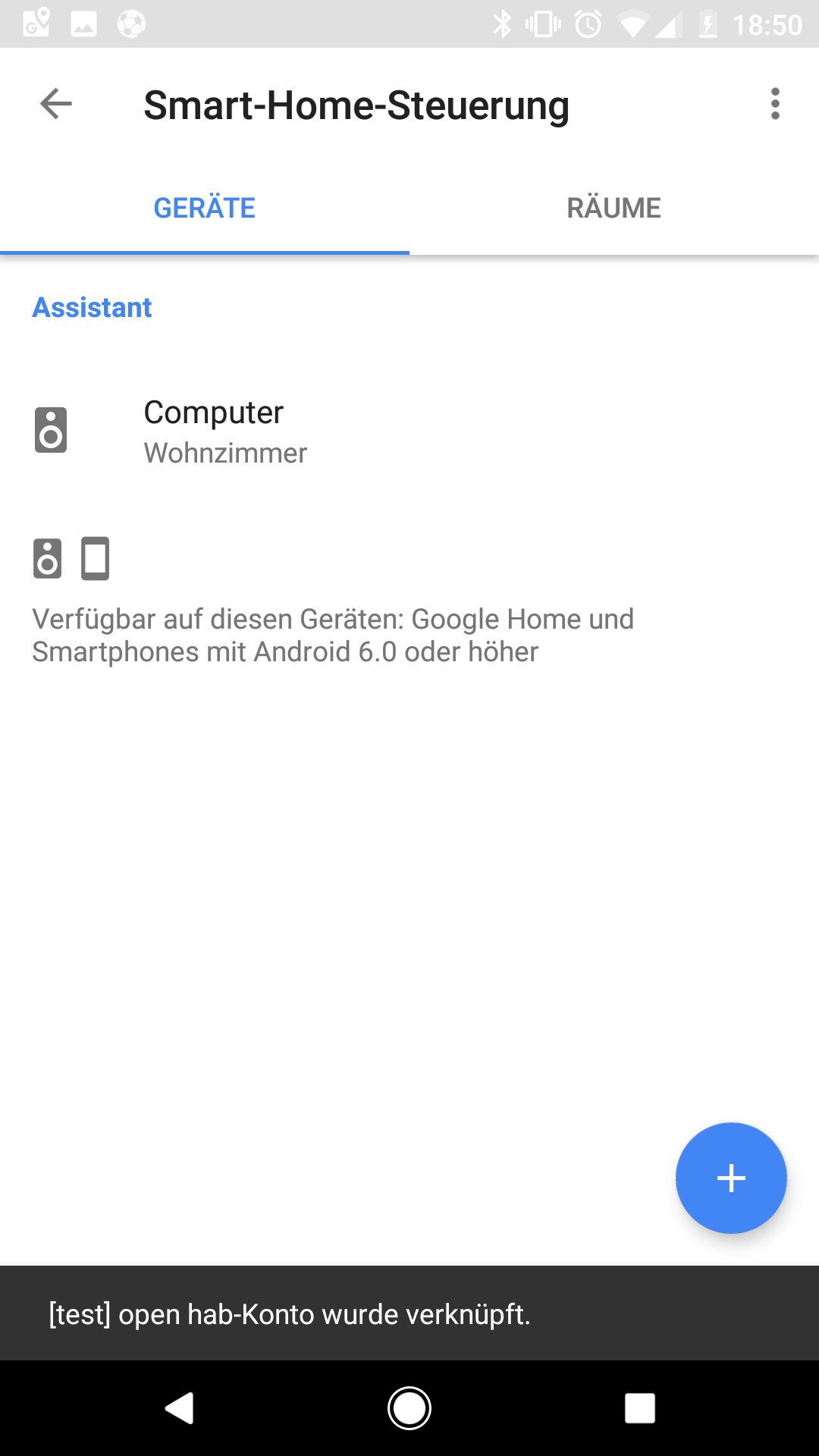 Linking Openhab With Google Home Does Not Show Any Devices Issue
