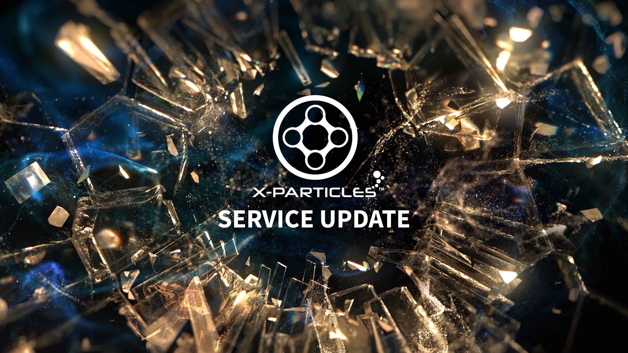 X-Particles 4.0 粒子