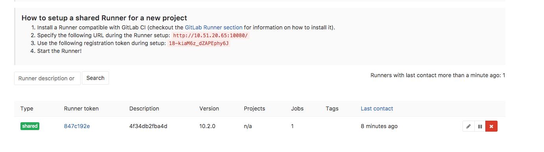 Developers - runner register failed!!! -