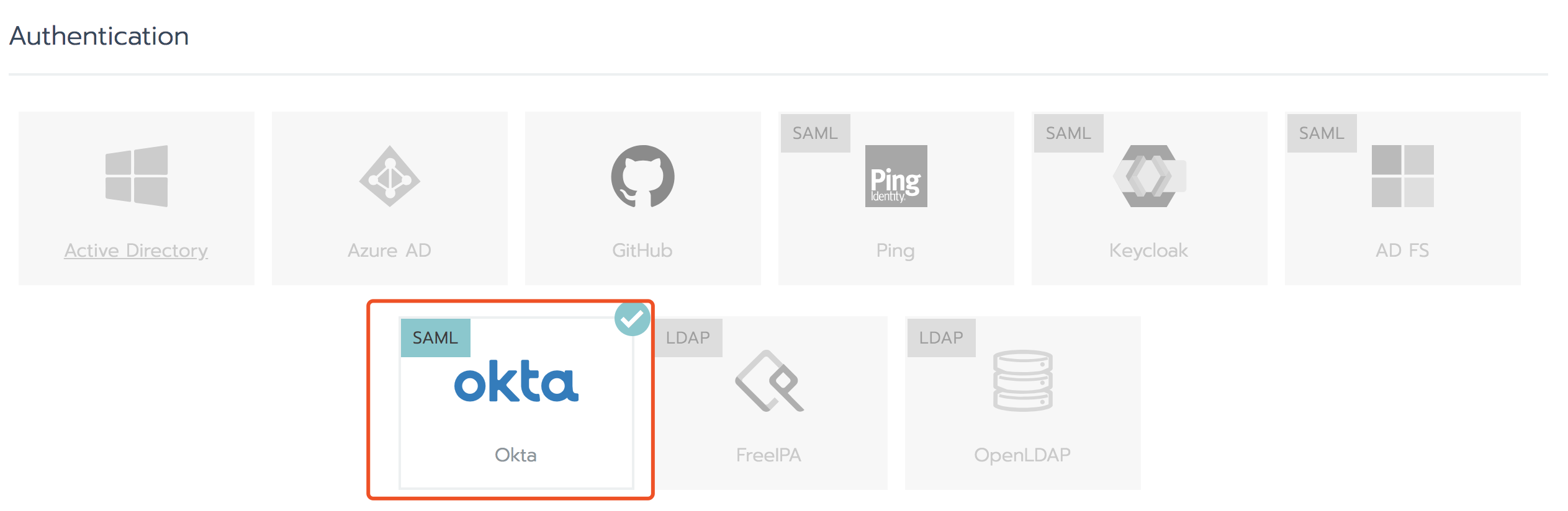 Support Okta as a SAML auth provider · Issue #15574