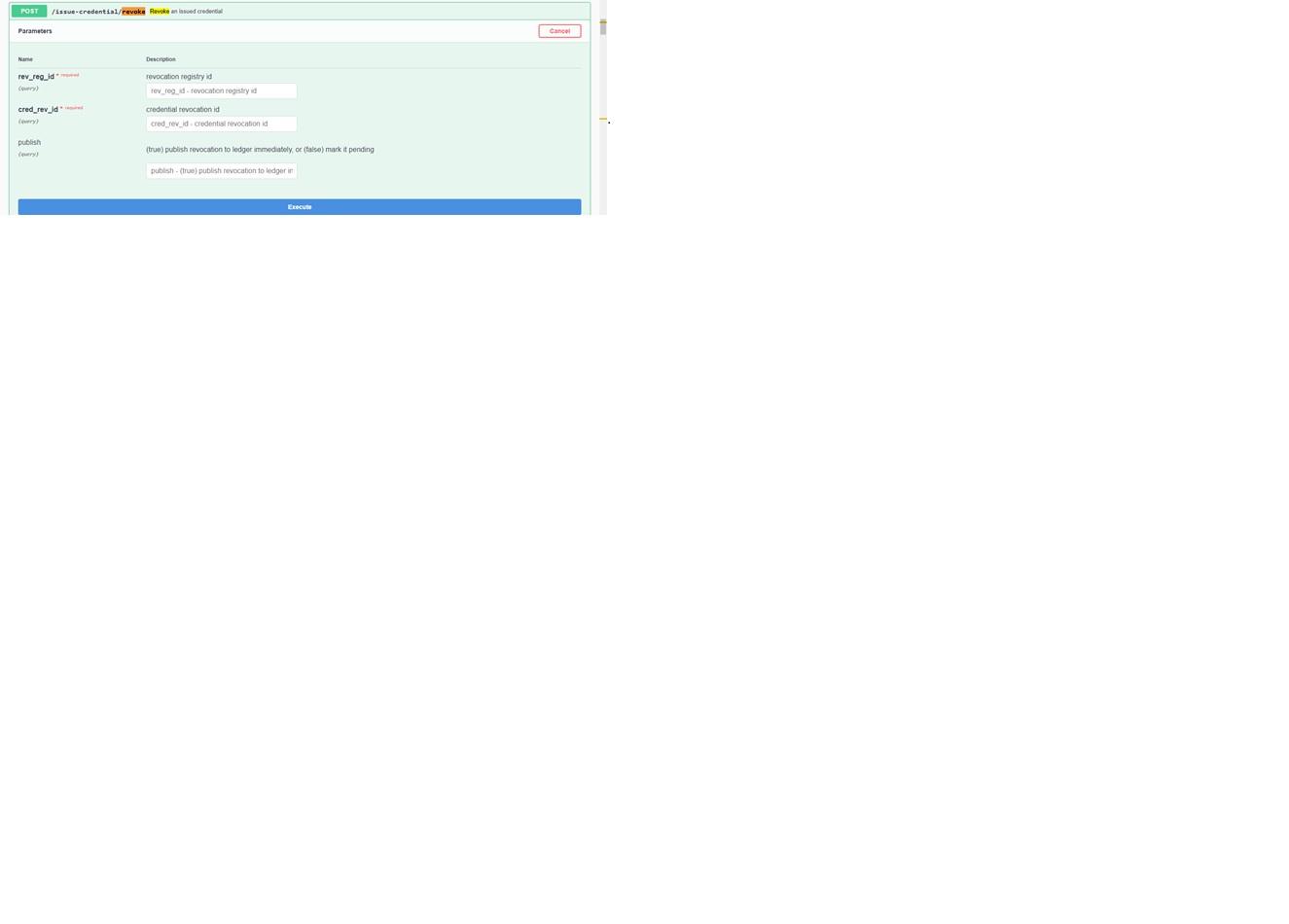 Aries Cloudagent Python How Revocation Works Issue 505 Hyperledger Aries Cloudagent Python Github