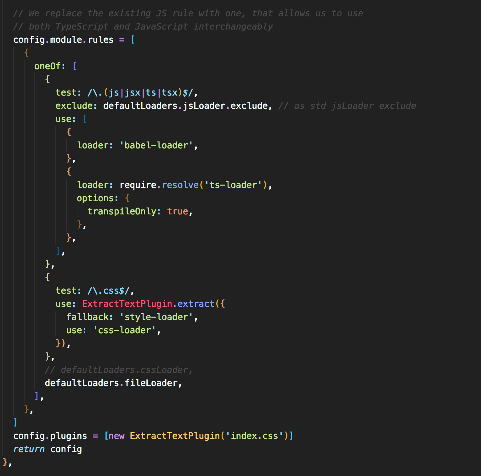 typescript template crashing on build issue 631 nozzle react