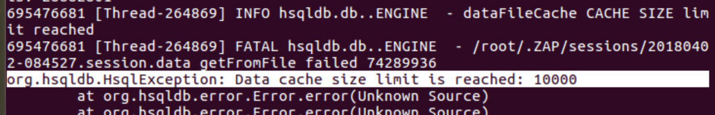 Data size limit exceed and Java heap memory size exceed · Issue