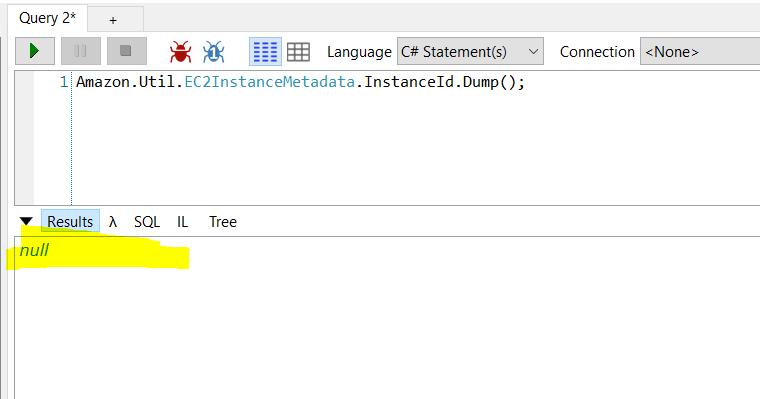 EC2 Metadata not working in Windows 2016 Instances · Issue