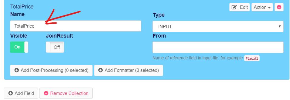 Add logical field in web scraping using scripting
