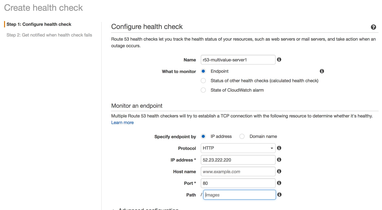 Health check server 1