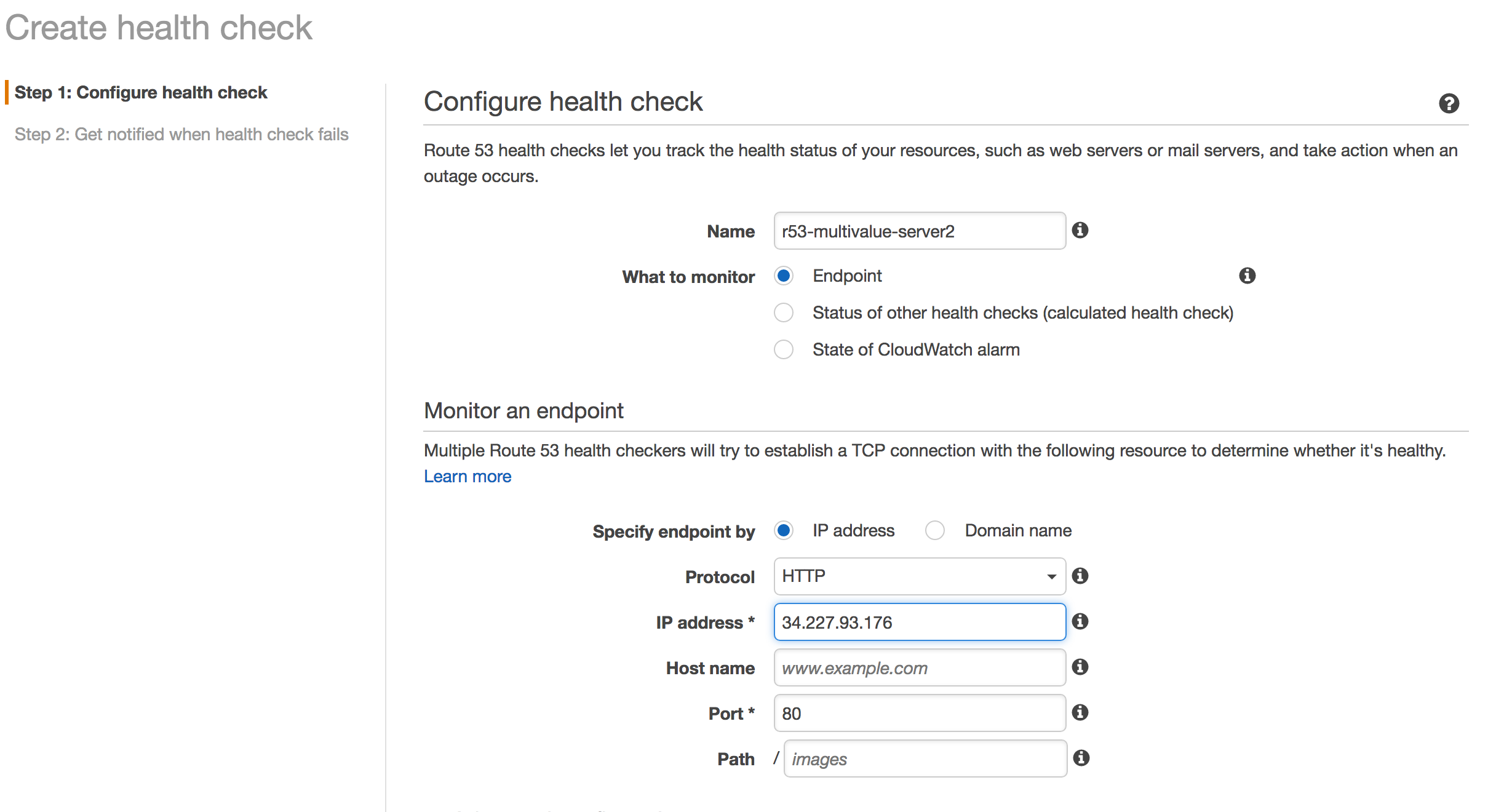 Health check server 2