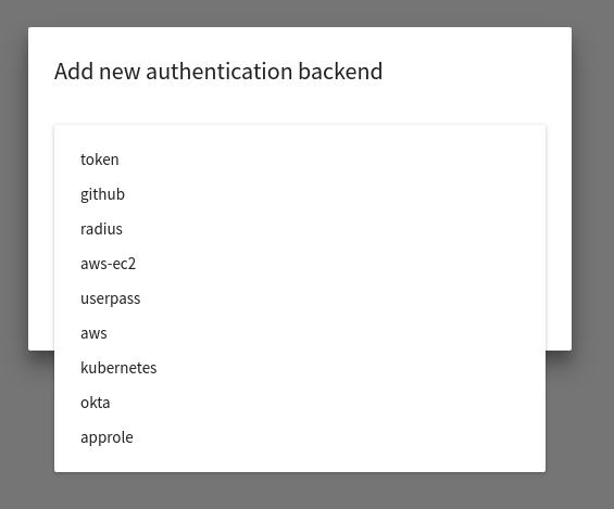 Add support for adding and configuring LDAP auth backend · Issue