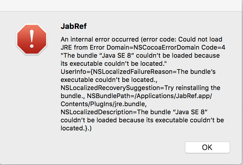 "Could not load JRE from The bundle ""Java SE 8"" · Issue #3587"
