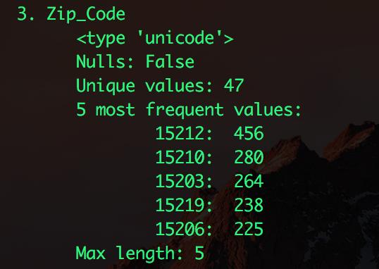 zipcode screenshot