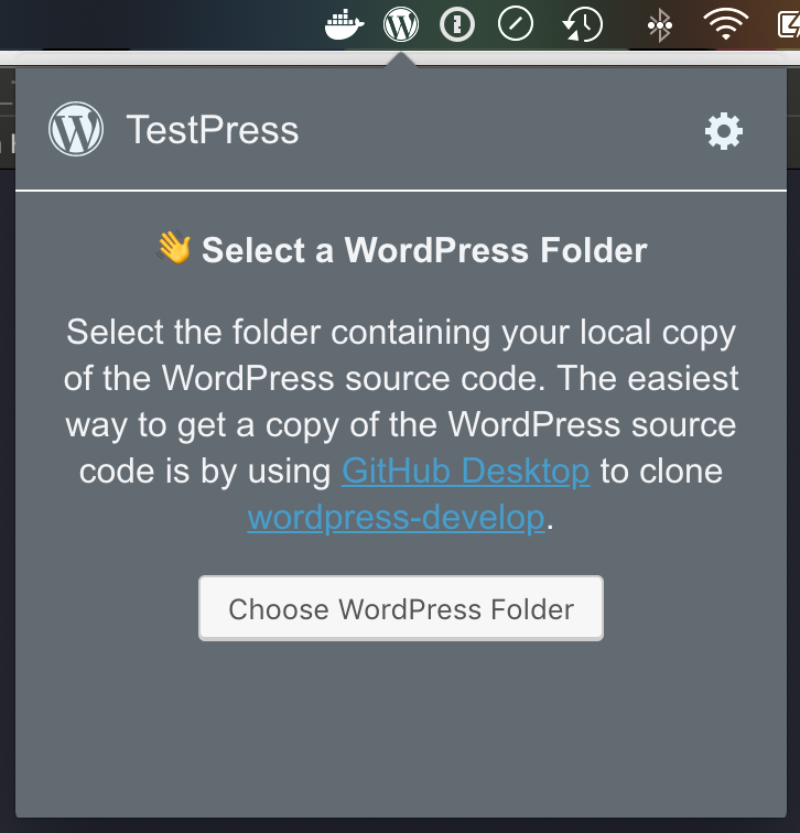 no wordpress folder dark