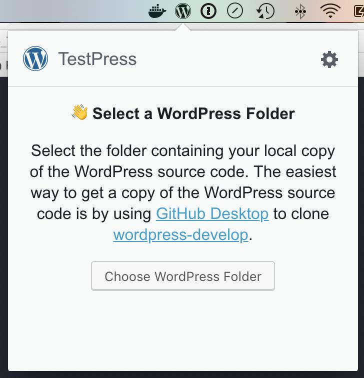 no wordpress folder light