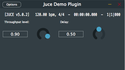 Plugin standalone version window doesn't change size · Issue
