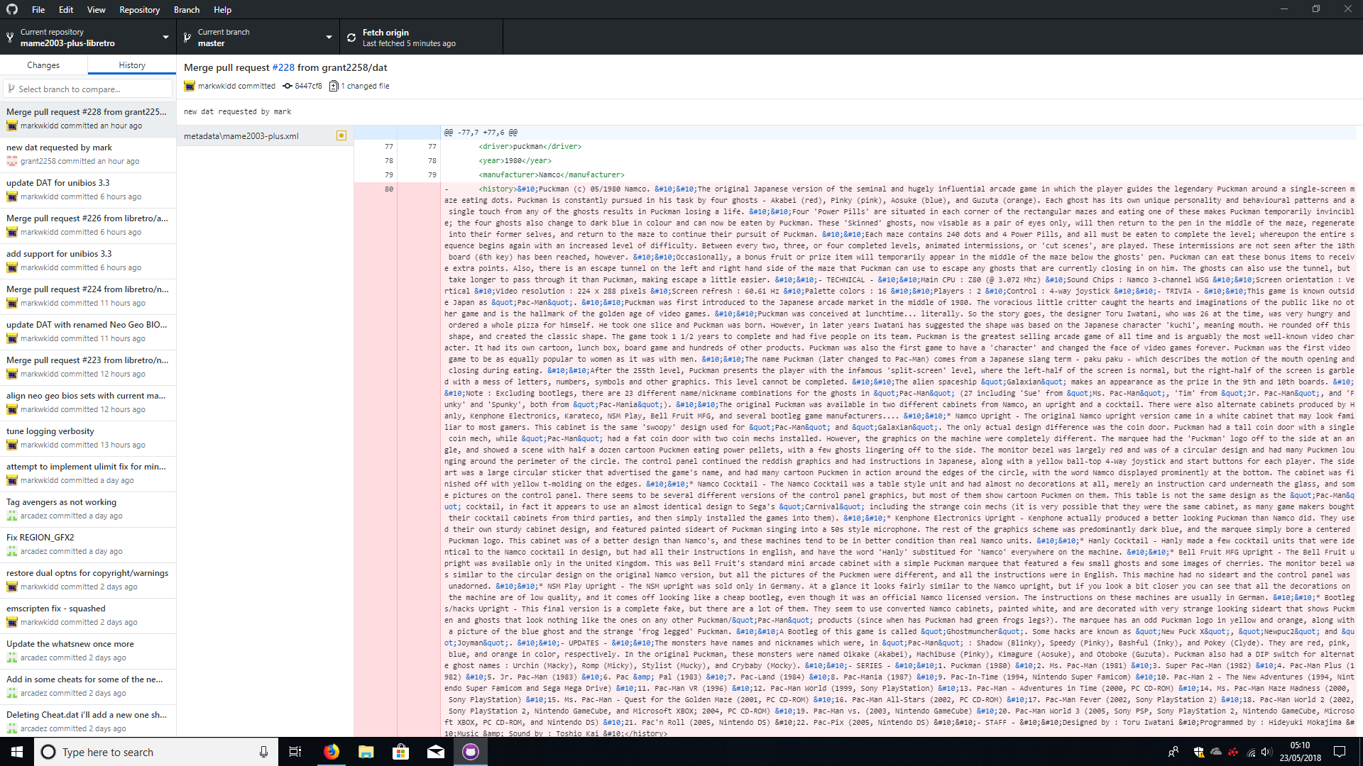 DAT generator produces inconsistent results in Windows x64