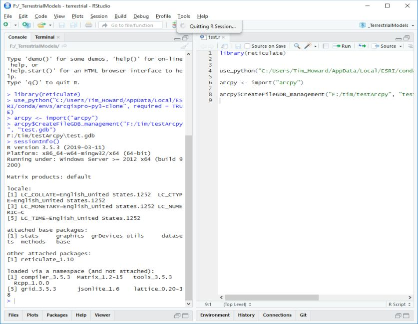 my R hangs whenever I call the reticulate package? · Issue