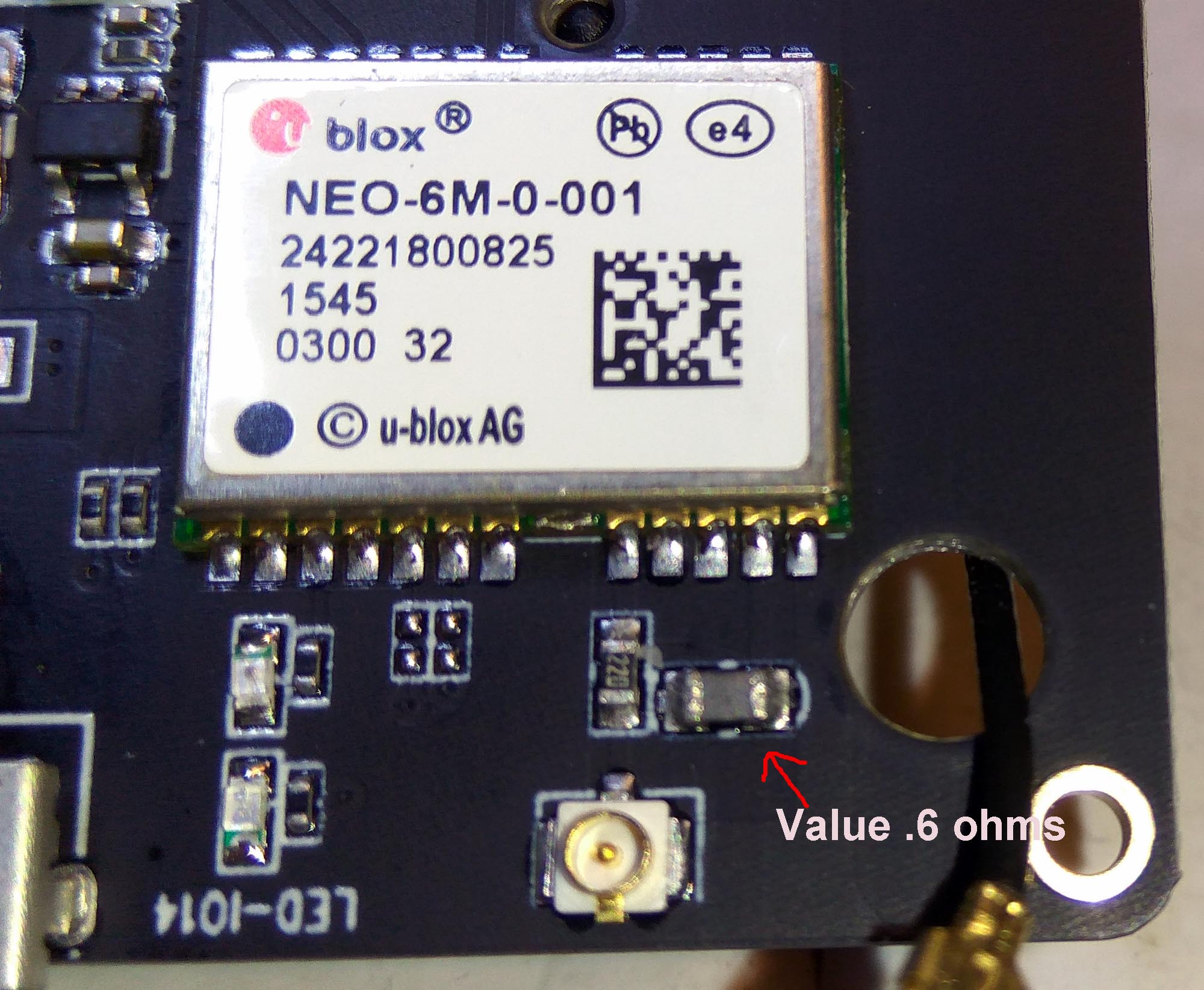 Neo6 RF_IN wiring is incorrect  · Issue #8 · LilyGO/TTGO-T-Beam · GitHub