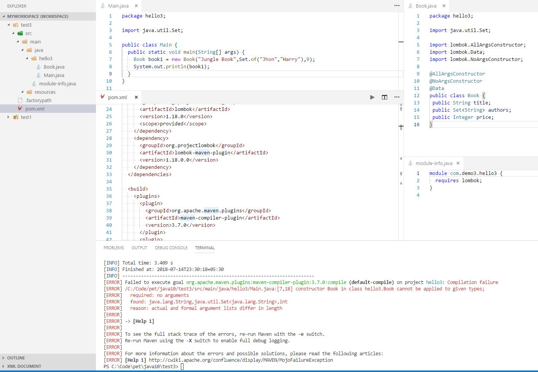 JDK9 lombok maven compile failing · Issue #1777 · rzwitserloot