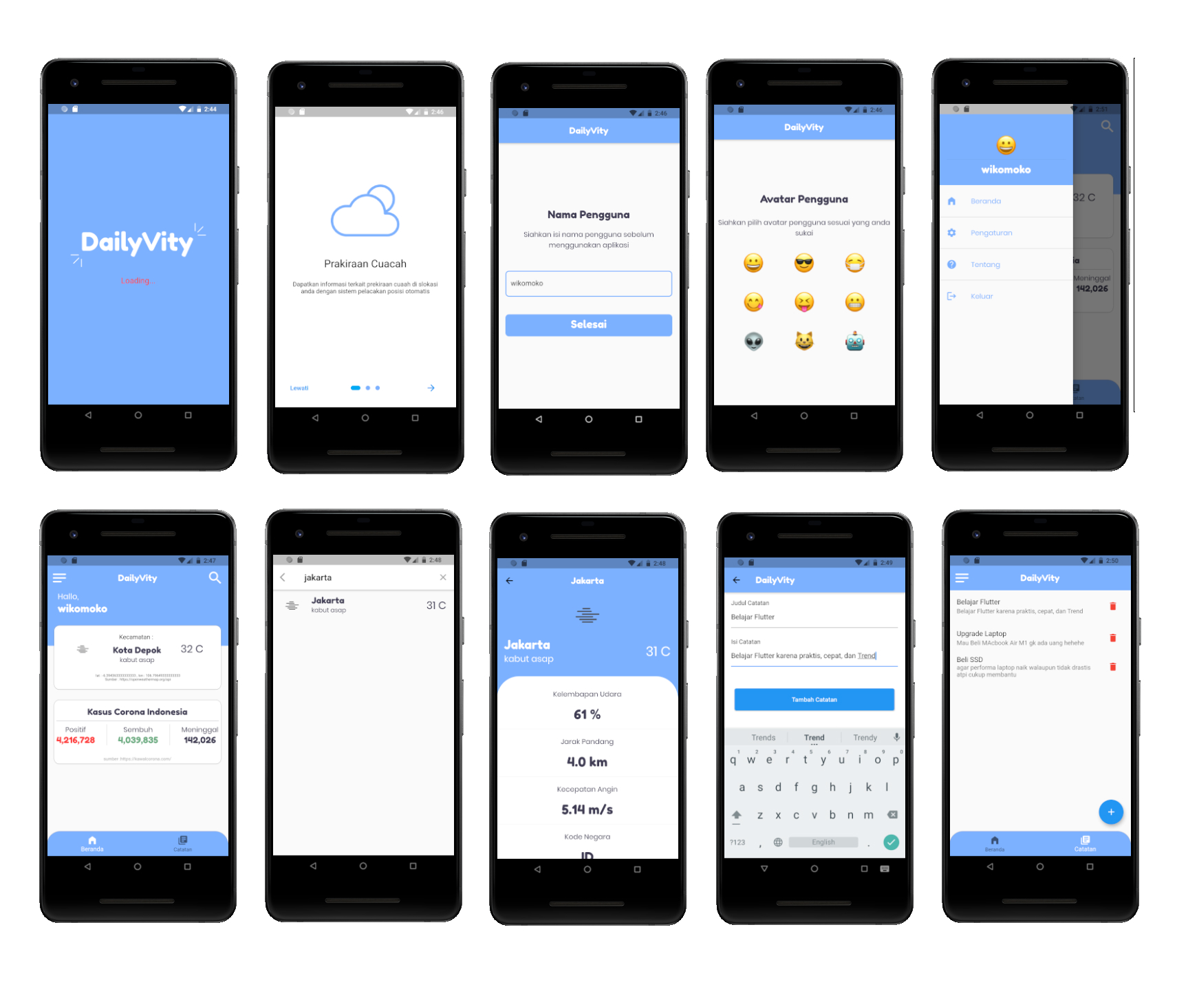Screen Shoot_daily App