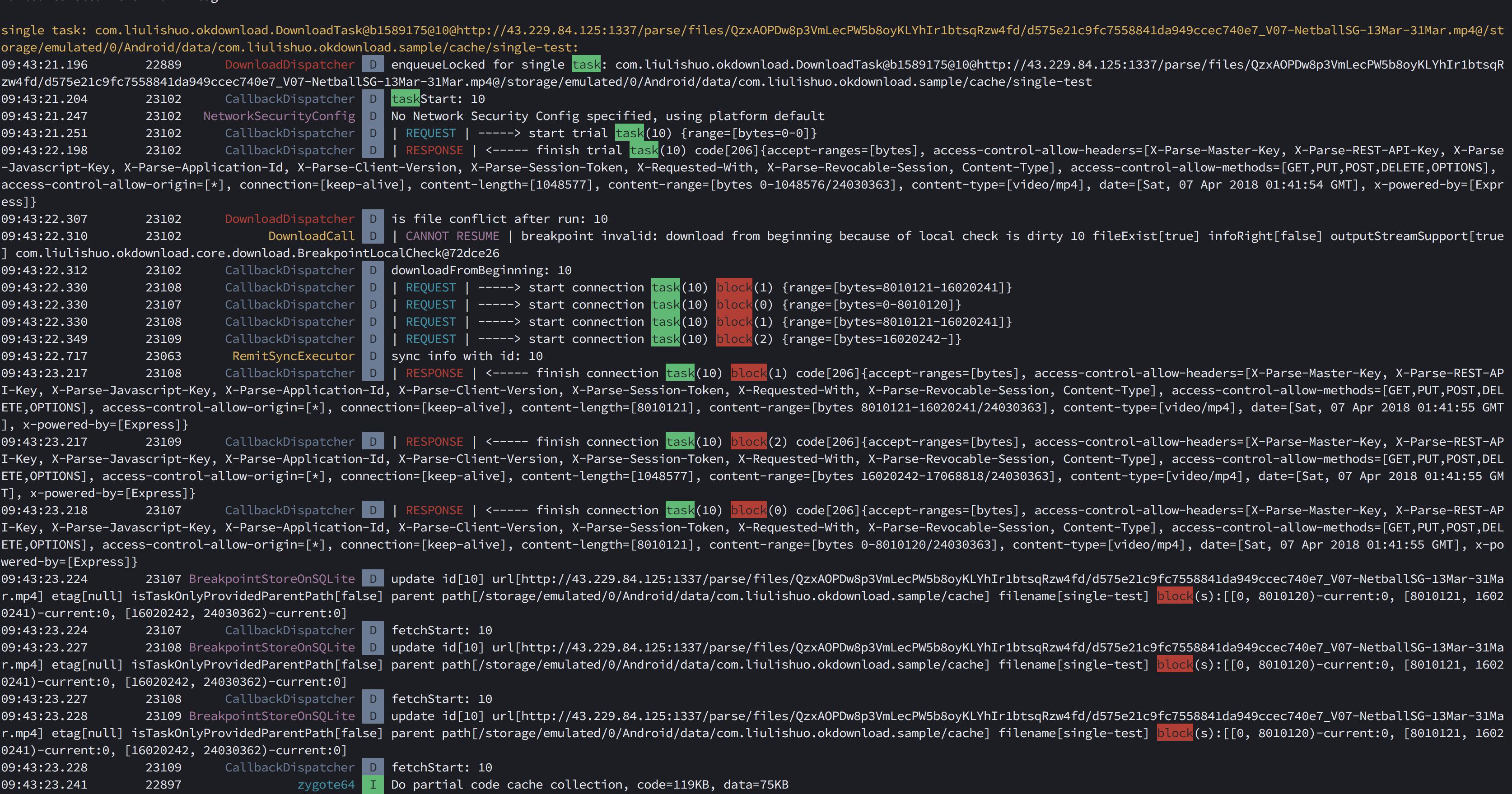 getting error during file downloading · Issue #17 · lingochamp