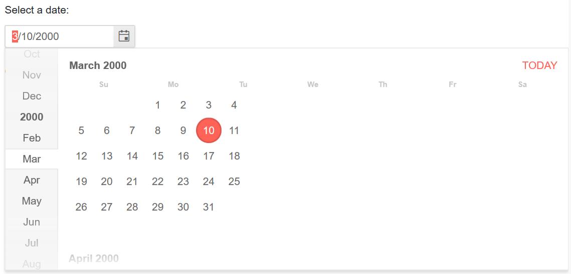 fix(calendar): layout glitch in Edge 18 · Issue #486 · telerik/kendo