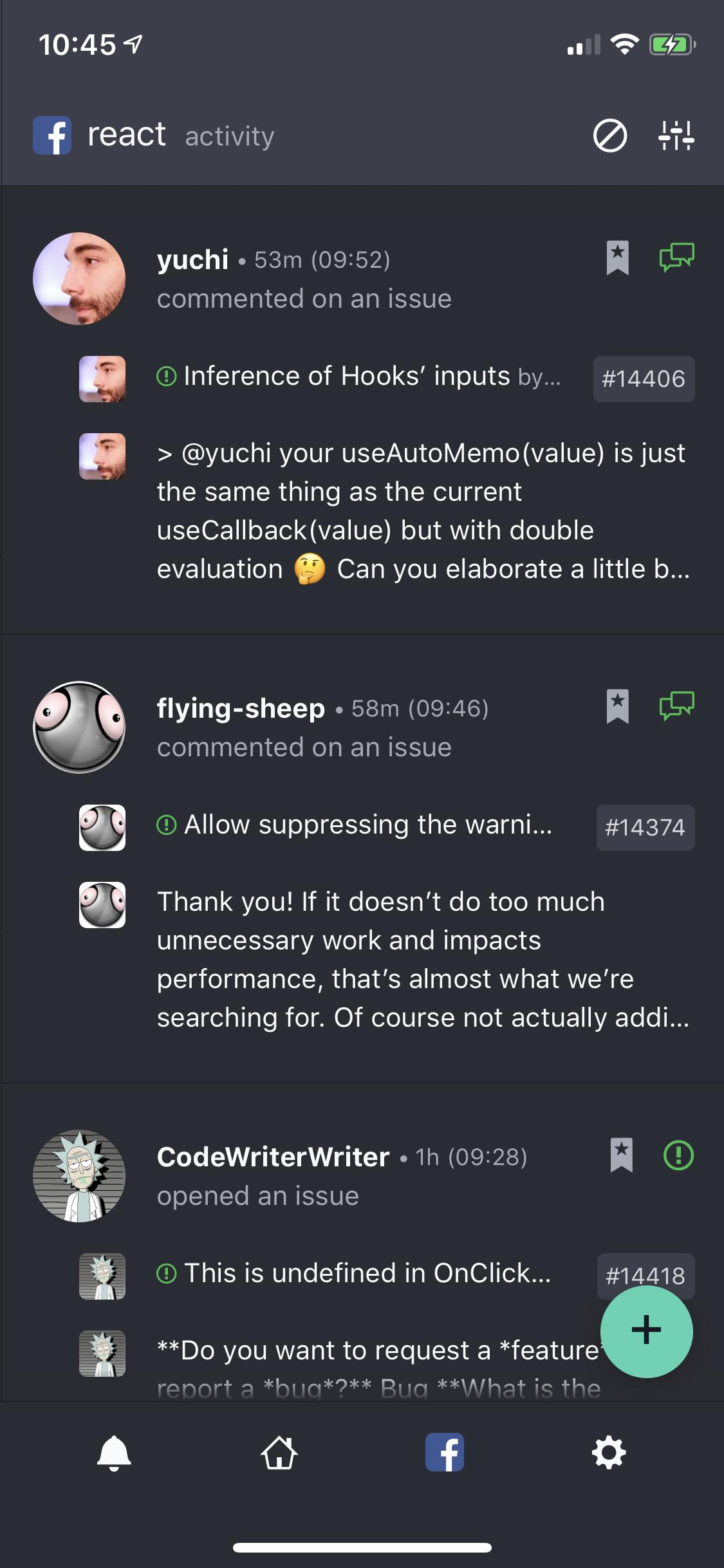 DevHub Mobile - Events