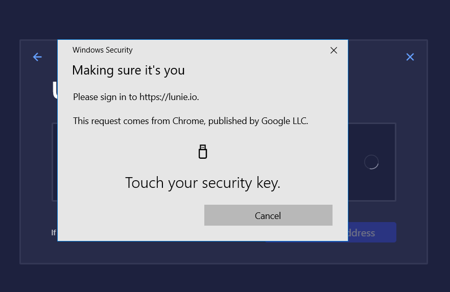 Cannot sign in with Ledger devices in win10 may 2019 update