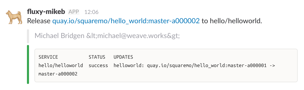 git-style usernames get escaped in Slack notifications