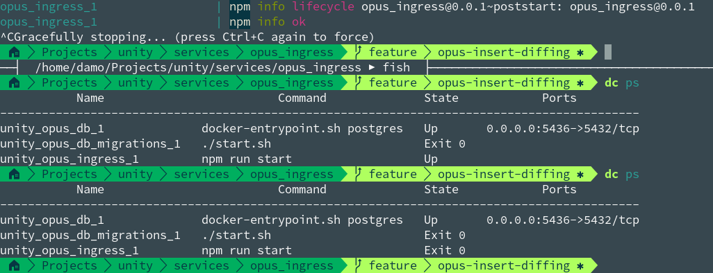 docker-compose up` hangs when tty parameter is true · Issue