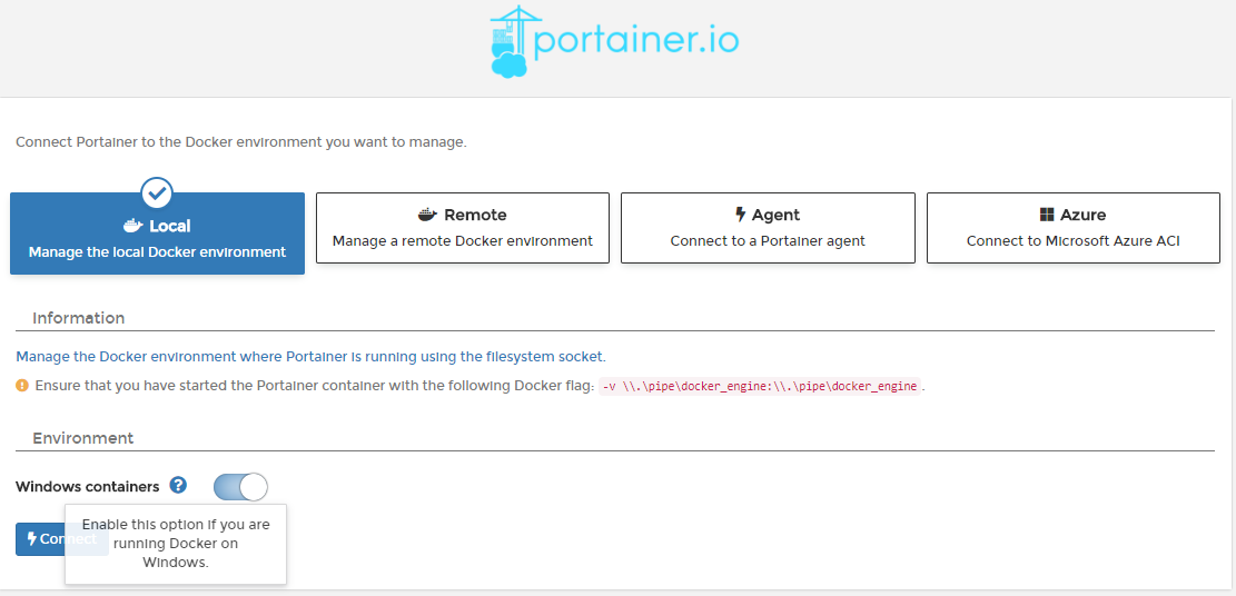 Developers - feat(api): Add npipe support -