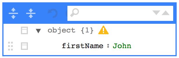 Display missing JSON schema fields · Issue #446 · josdejong