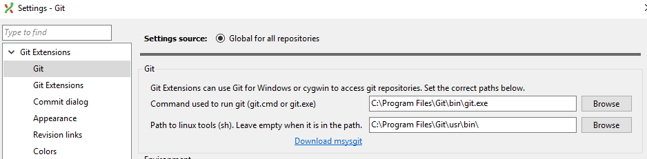 Remove Git and Kdiff3 from installer package · Issue #4515