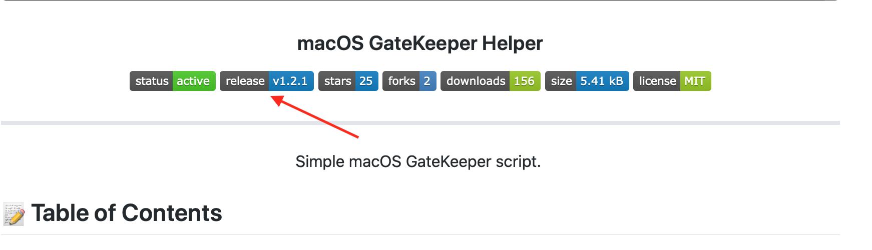 macOS GateKeeper Helper