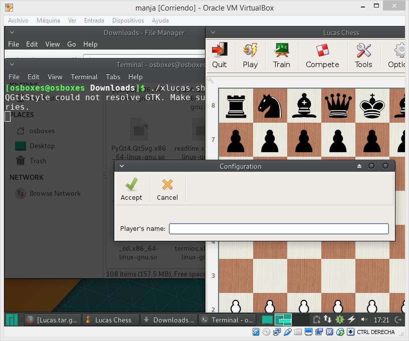 Can Lucas Chess run on Linux? · Issue #59 · lukasmonk/lucaschess