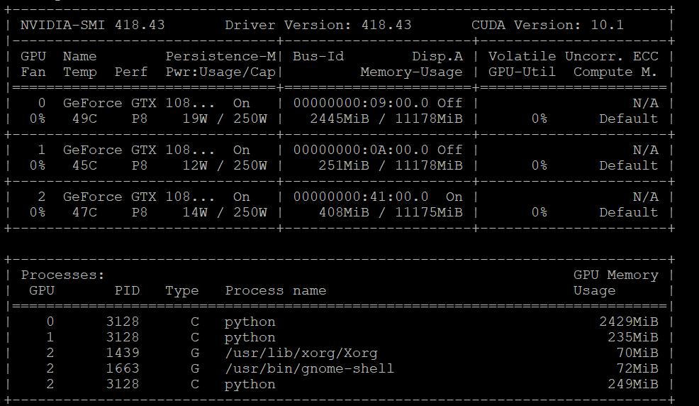 Multi GPU training hangs · Issue #448 · NVIDIA/OpenSeq2Seq · GitHub