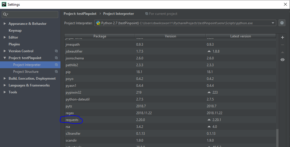 Local lambda handler can't find import in pycharm · Issue