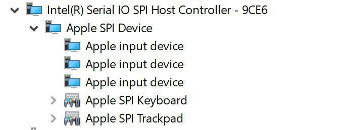 Apple SPI Trackpad Driver Windows XP