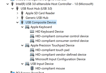 Driver Not Showing (Not Working) in Macbook Air 13