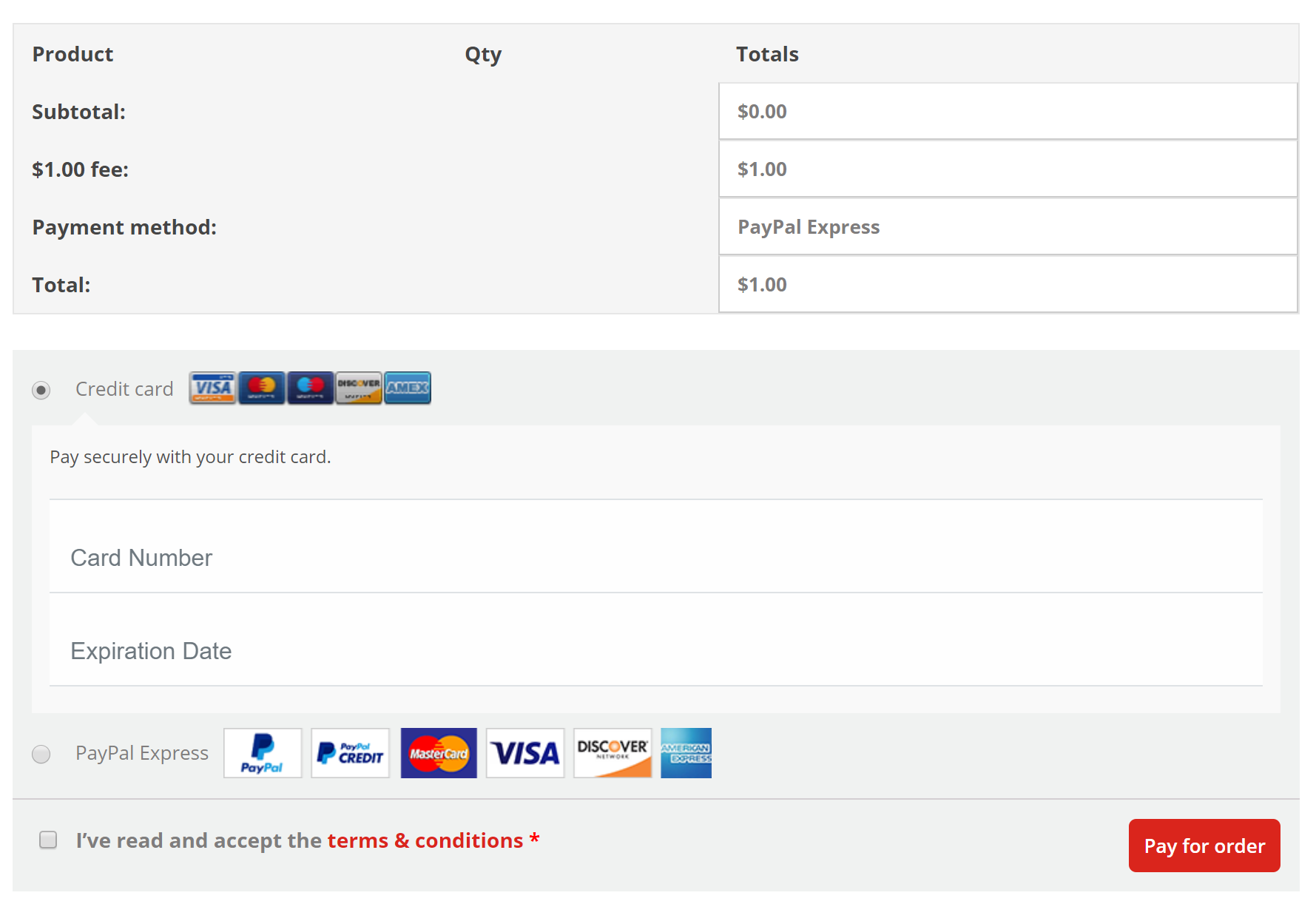 express checkout still not working from a saved pending invoice
