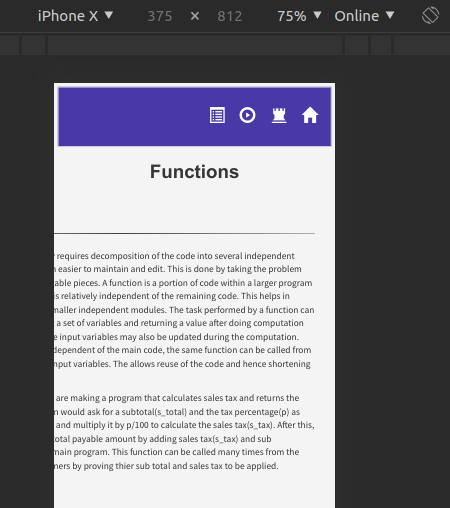 No lab manual page is responsive on mobiles · Issue #198 · virtual