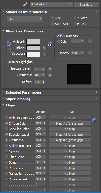 Missing specular, glossiness map after converted to glTF? · Issue