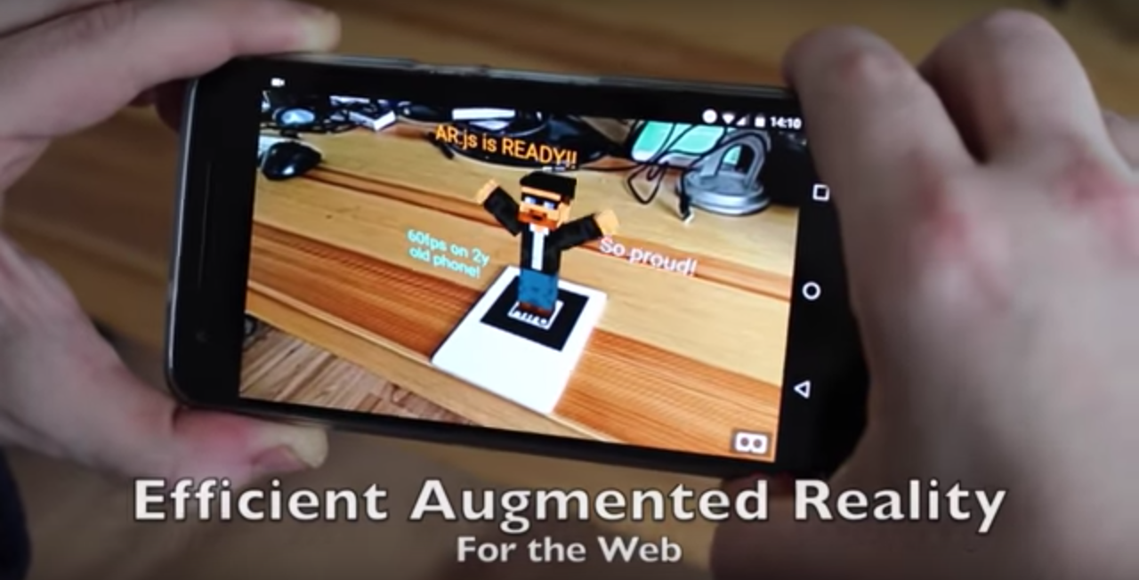 Creating Augmented Reality With Ar Js And A Frame A Frame