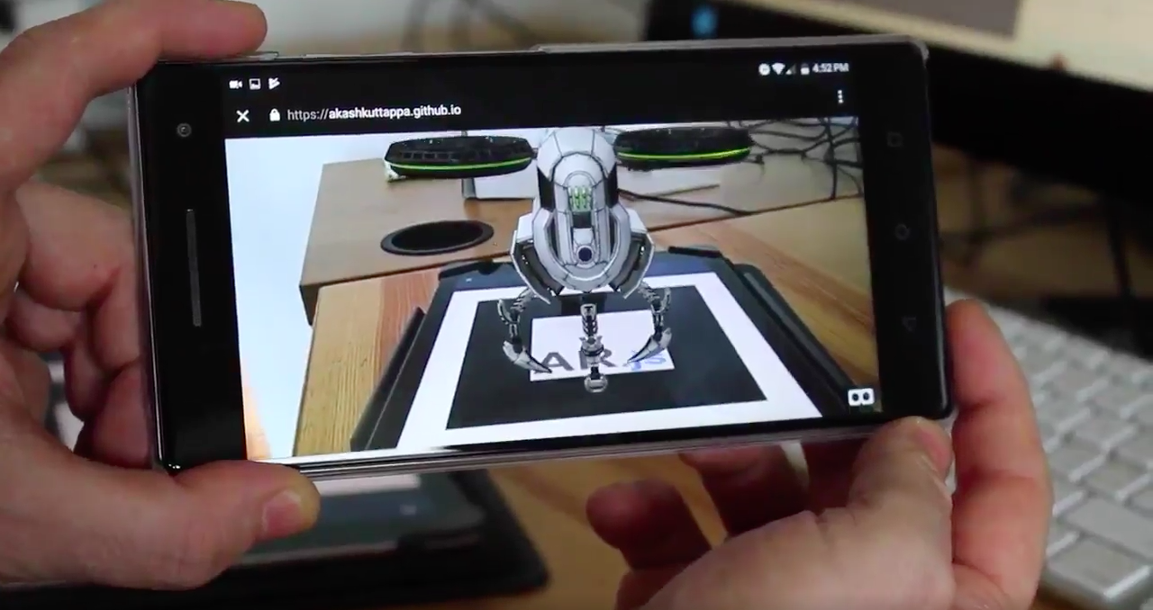 Creating Augmented Reality with AR js and A-Frame – A-Frame