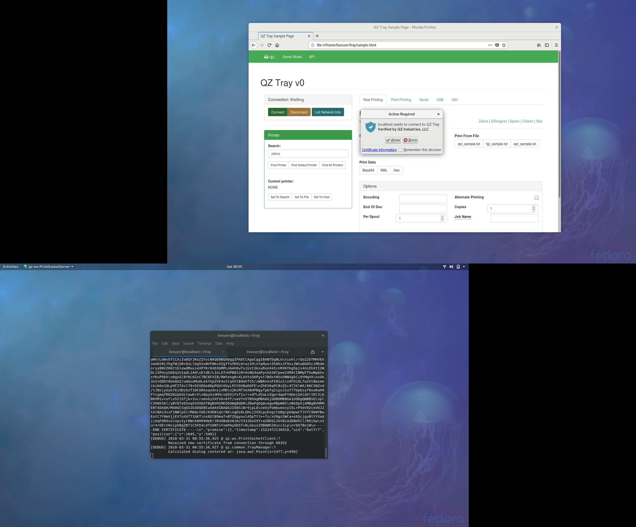 Place Popup on Correct Screen · Issue #284 · qzind/tray · GitHub
