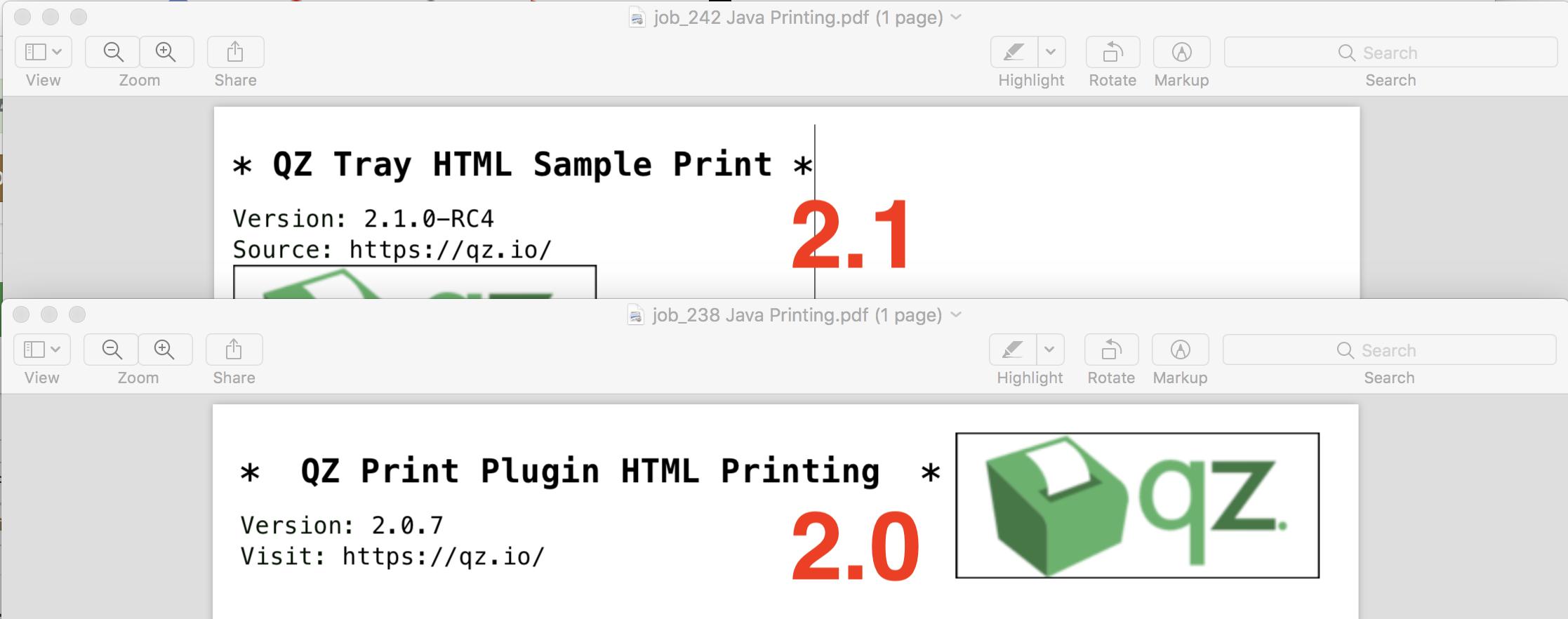 2 1 vs 2 0 Legacy HTML Printing · Issue #307 · qzind/tray
